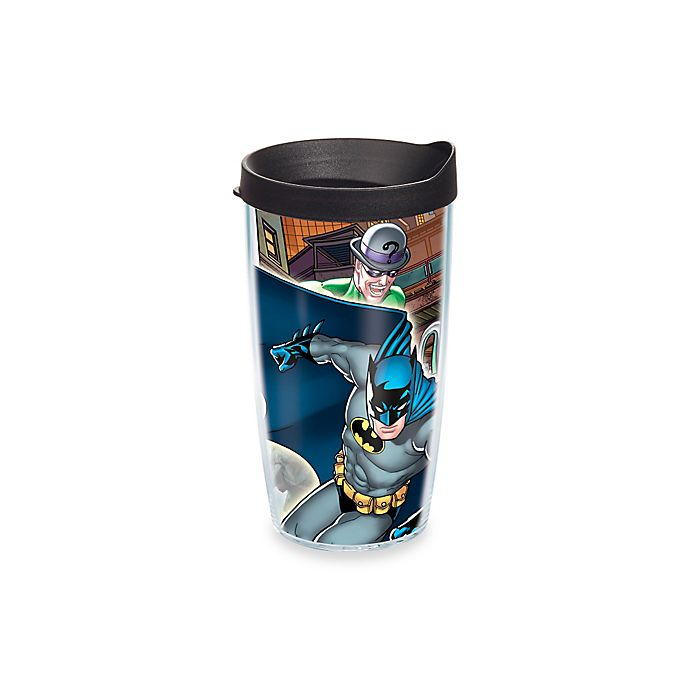 Alternate image 1 for Tervis® Batman 16 oz. Wrap Tumbler with Lid