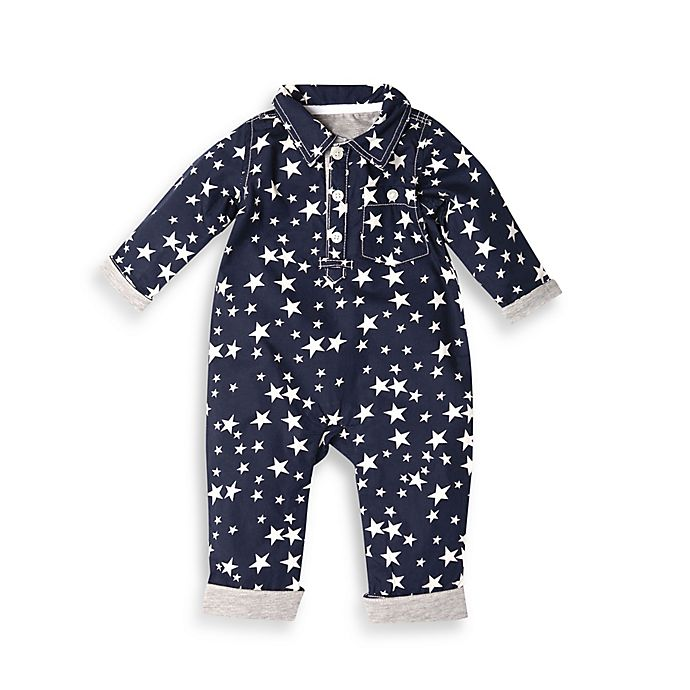 Alternate image 1 for Kapital K™ Shirt Coverall in Navy Star