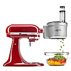 KitchenAid® Food Processor with Commercial Style Dicing Kit Stand Mixer Attachment