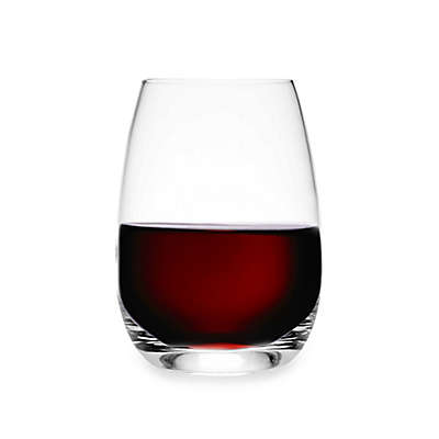 Luigi Bormioli Michelangelo Masterpiece Sparkx® Stemless Wine Glasses (Set of 4)