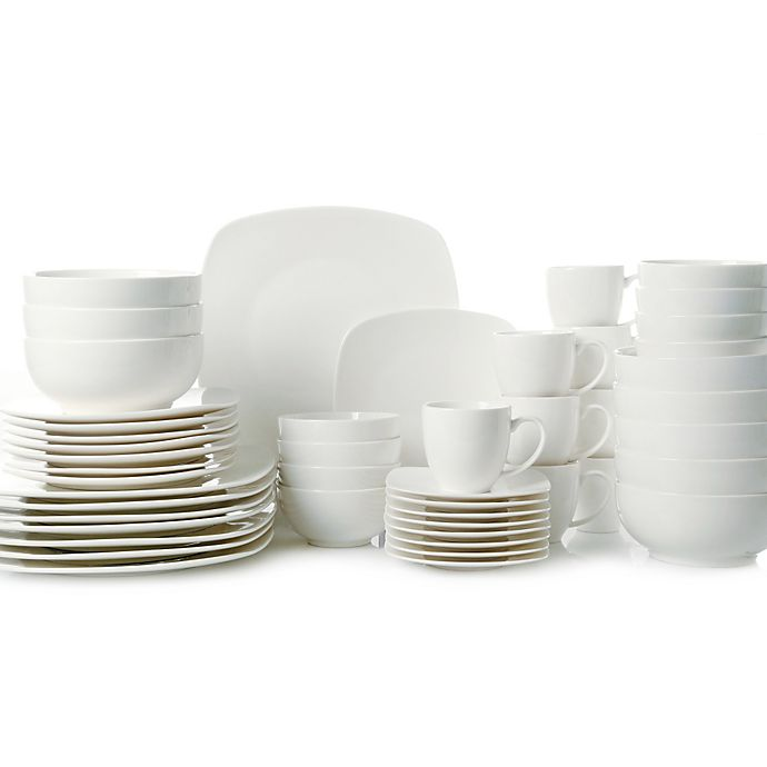 Alternate image 1 for Gibson Home Madison Court 48-Piece Dinnerware Set