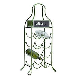 Elements Chalkboard Wine Holder in Green