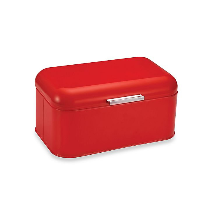 Polder Mini Retrobin Bread Box In Red Bed Bath Amp Beyond