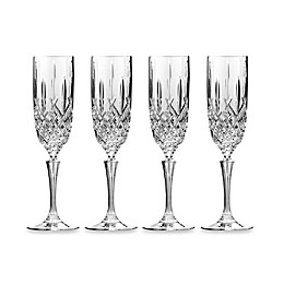 Marquis® by Waterford Markham Champagne Flutes (Set of 4)