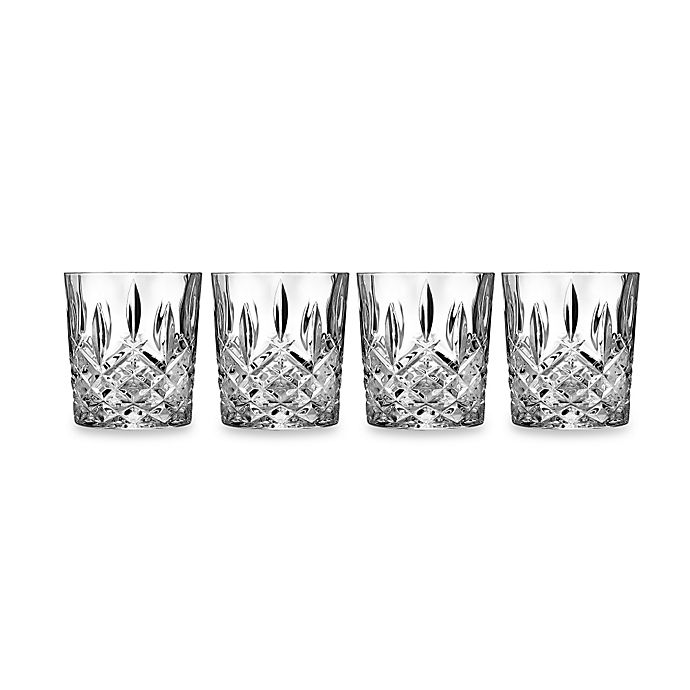 Alternate image 1 for Marquis® by Waterford Markham Double Old Fashioned (Set of 4)