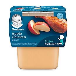Gerber® 2nd Foods® 3.5 oz. Apples & Chicken (2-Pack)