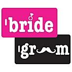 Bride & Groom 2-Piece Bag Tag Gift Set