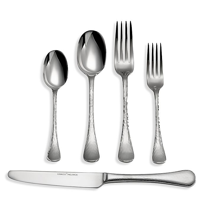 Alternate image 1 for Ginkgo Lafayette 45-Piece Flatware Set