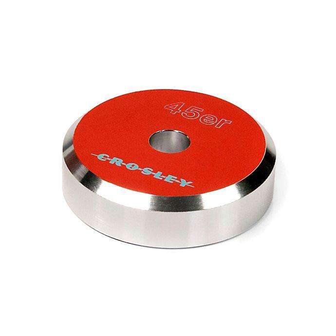 Alternate image 1 for Crosley 45er Aluminum 45 Adapter in Orange
