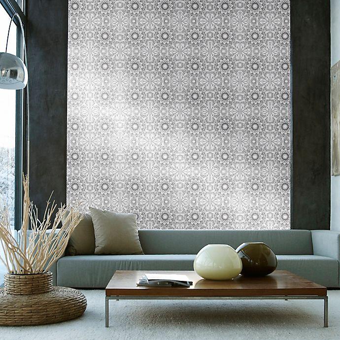 Alternate image 1 for Tempaper® Removable Wallpaper in Medallion Platinum