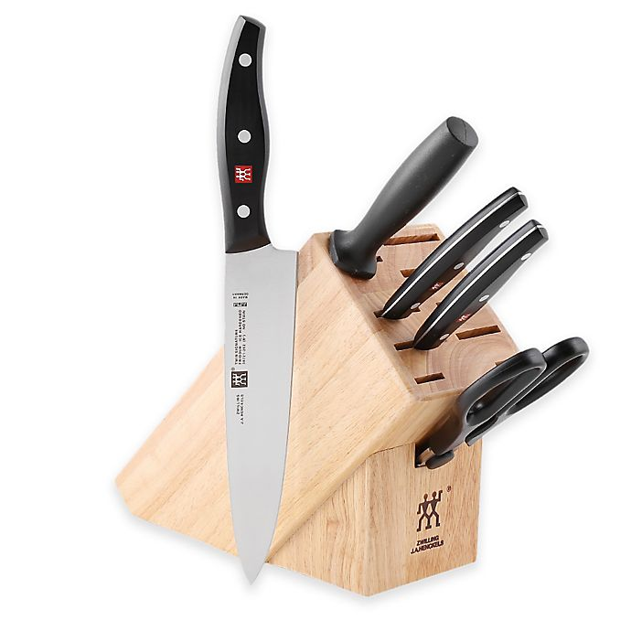 Alternate image 1 for Zwilling® J.A. Henckels Twin Signature 6-Piece Knife Block Set