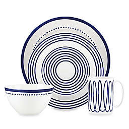 kate spade new york Charlotte Street™ West Dinnerware Collection in Indigo
