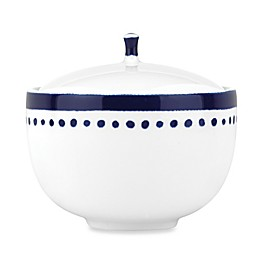 kate spade new york Charlotte Street™ Covered Sugar Bowl in Indigo