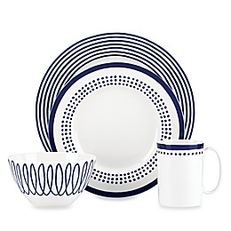 kate spade new york Charlotte Street™ East Dinnerware Collection in Indigo