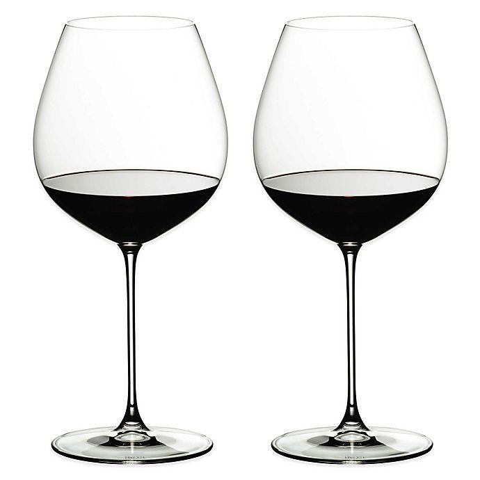 Alternate image 1 for Riedel® Veritas Old World Pinot Noir Wine Glasses (Set of 2)