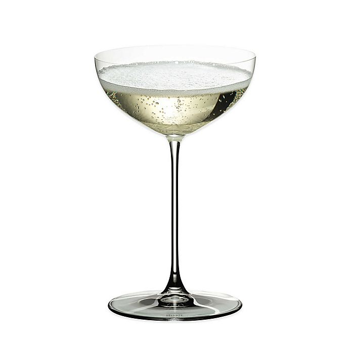 Alternate image 1 for Riedel® Veritas Coupe/Moscato/Martini Wine Glasses (Set of 2)