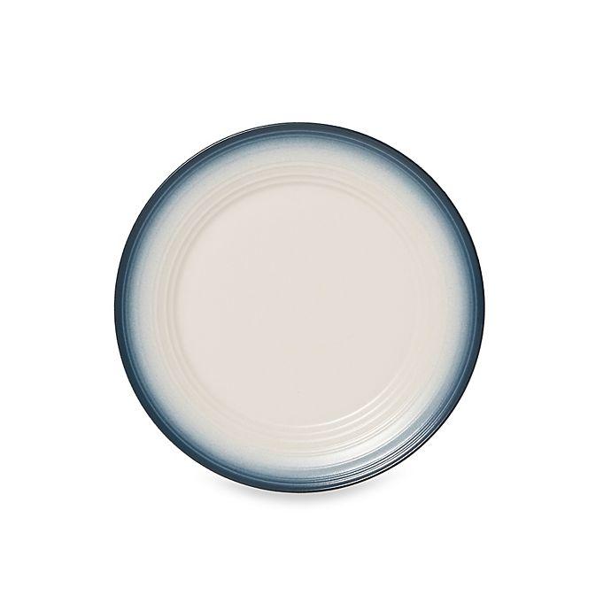 Alternate image 1 for Mikasa® Swirl Ombre Dinner Plate in Blue