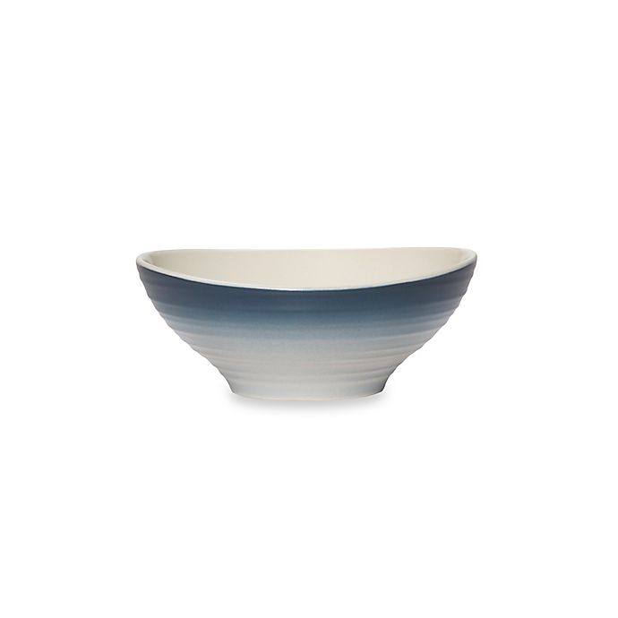 Alternate image 1 for Mikasa® Swirl Ombre Cereal Bowl in Blue