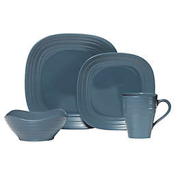 Mikasa® Swirl Square Dinnerware Collection in Blue