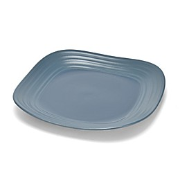 Mikasa® Swirl Square Dinner Plate in Blue