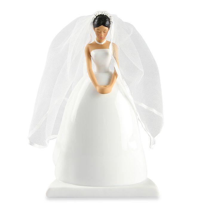 Alternate image 1 for Ivy Lane Design Ty Wilson Asian Bride Cake Topper