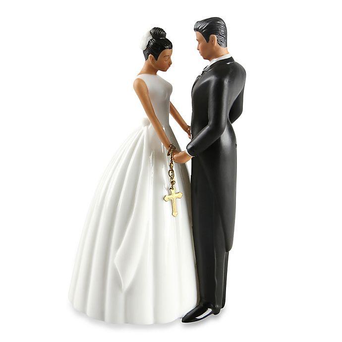 Alternate image 1 for Ivy Lane Design Ty Wilson Hispanic Bride and Groom Cake Topper