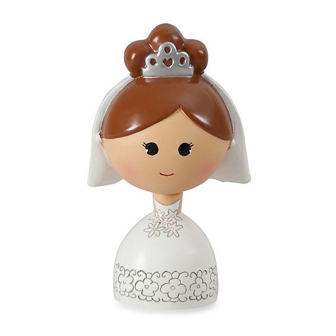 Alternate image 1 for Ivy Lane Design™ Kokeshi Bride Figurine with Brown Hair/Fair Skin