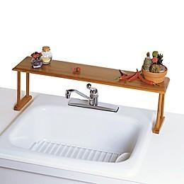 Lipper International Over-The-Sink Bamboo Shelf