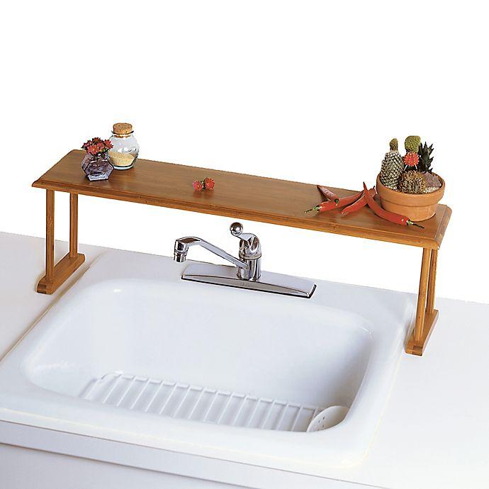 Lipper International Over The Sink Bamboo Shelf Bed Bath Beyond