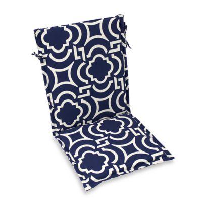 Outdoor Sling Back Chair Cushion In Carmody Bed Bath