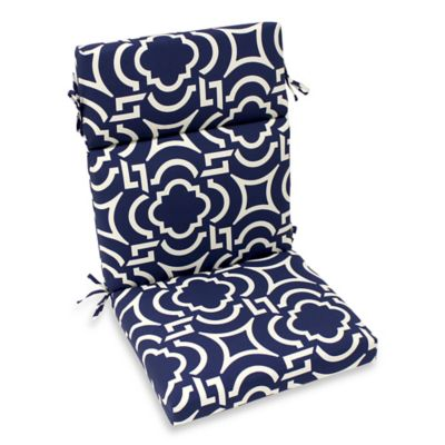 Outdoor High Back Chair Cushion In Carmody Bed Bath Beyond