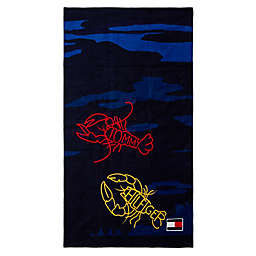 Tommy Hilfiger® Electric Lobsters Beach Towel
