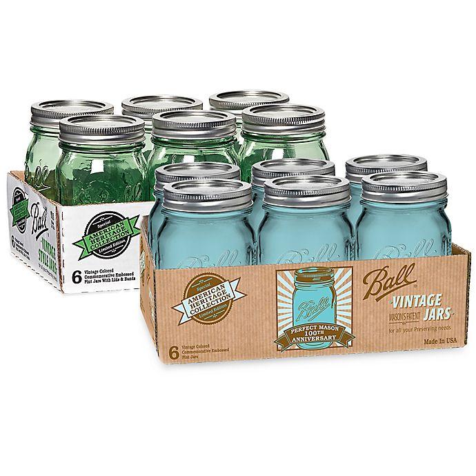 Alternate image 1 for Ball® Vintage Collection Pint Jars (Set of 6)