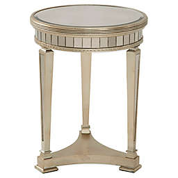Bassett Mirror Company Borghese Mirrored Round End Table