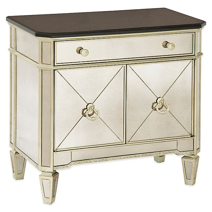 Bassett Coupon: Bassett Mirror Company Borghese Small Mirrored Chest