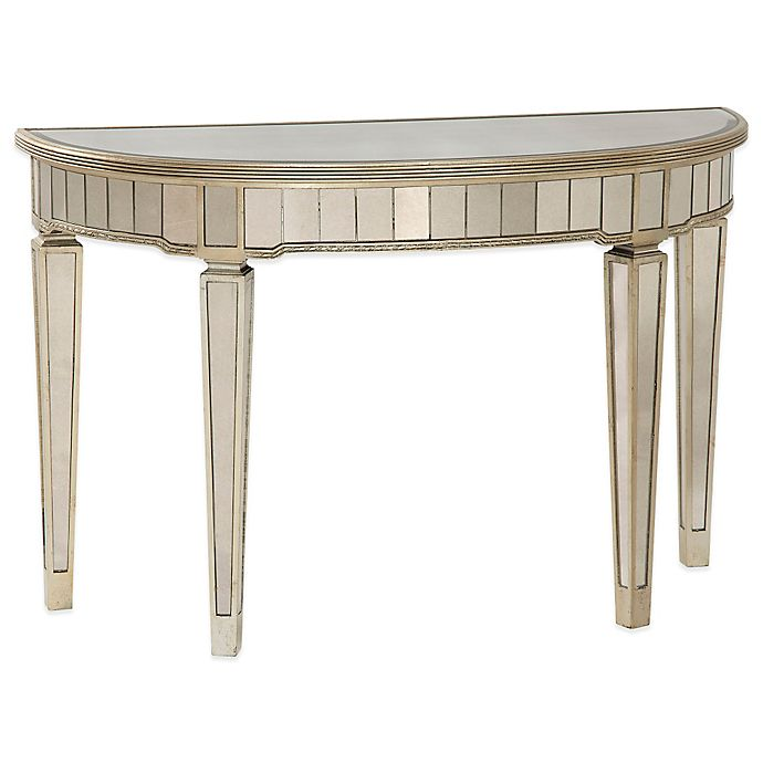 Bassett Coupon: Bassett Mirror Company Borghese Mirrored Console Table