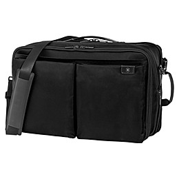 Victorinox® Lexicon Expandable Overnight Laptop Bag in Black