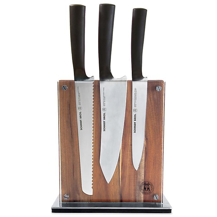 Schmidt Brothers 174 Carbon6 7 Piece Knife Block Set Bed