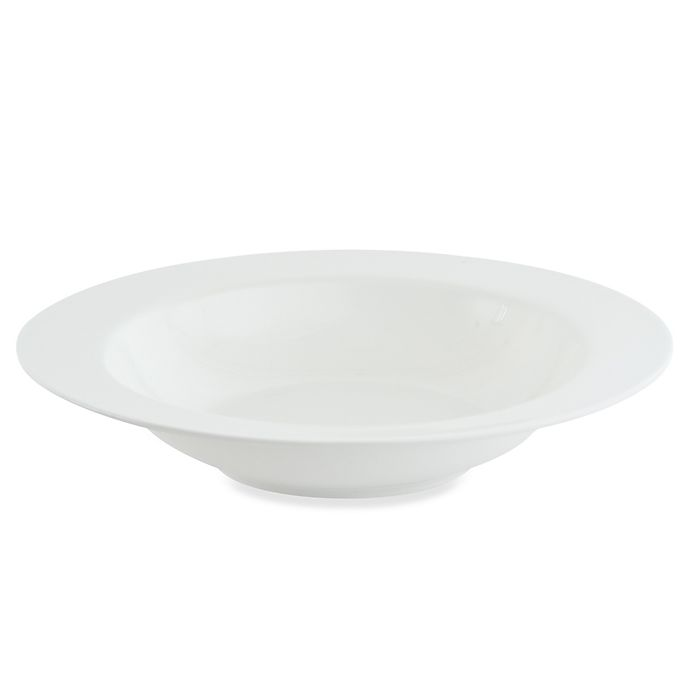 Alternate image 1 for Nevaeh White® by Fitz and Floyd® Rim Entrée Bowl