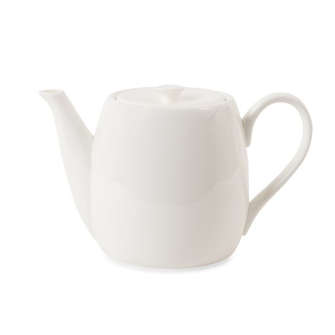 Alternate image 1 for Nevaeh White® by Fitz and Floyd® Teapot