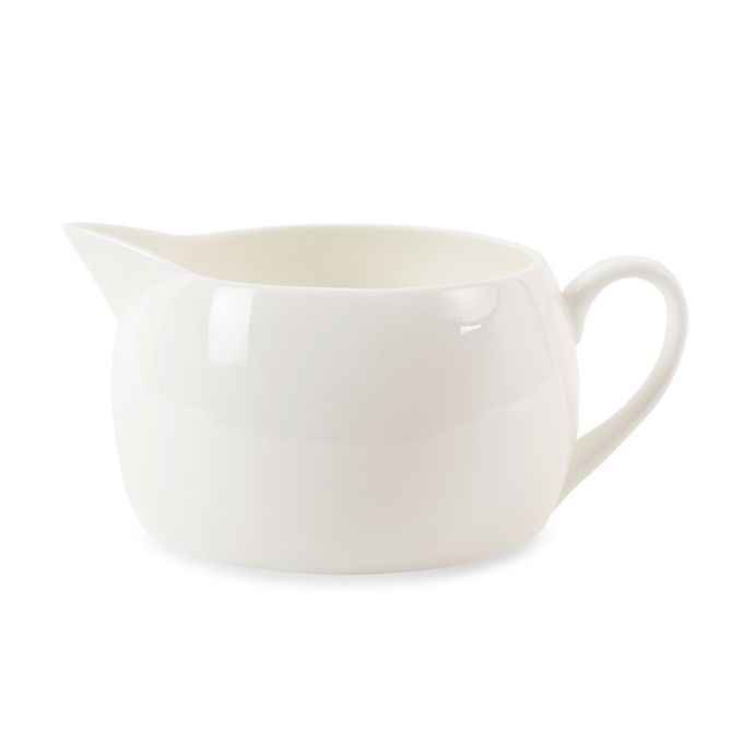 Alternate image 1 for Nevaeh White® by Fitz and Floyd® Large Gravy Boat