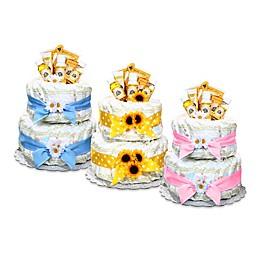 Burt's Bees® Diaper Cake Centerpiece