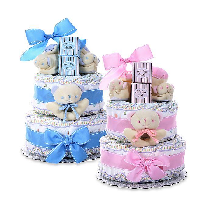 Alternate image 1 for New Baby Diaper Cake