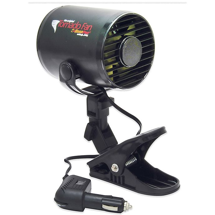 Alternate image 1 for RoadPro 12-Volt Tornado Fan with Mounting Clip