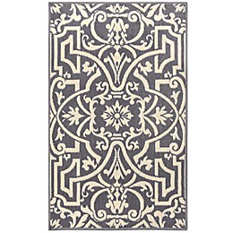 Westwood Washable Accent Rug in Grey