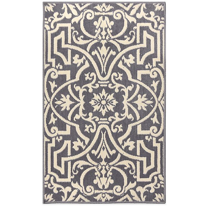 Westwood Washable Accent Rug In Grey Bed Bath And Beyond