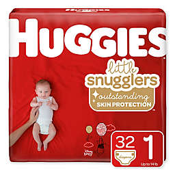 Huggies® Little Snugglers 32-Count Size 1 Jumbo Pack Diapers