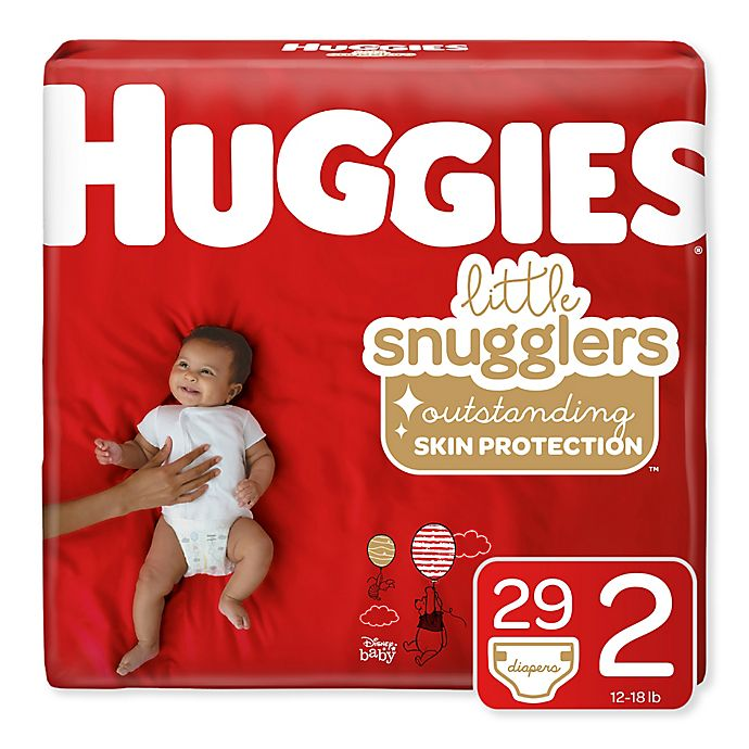 Alternate image 1 for Huggies® Little Snugglers 32-Count Size 2 Jumbo Pack Diapers
