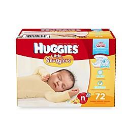 Huggies® Little Snugglers 72-Count Newborn Big Pack Diapers