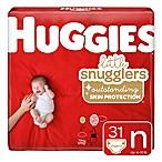 Huggies® Little Snugglers 32-Count Newborn Jumbo Pack Diapers